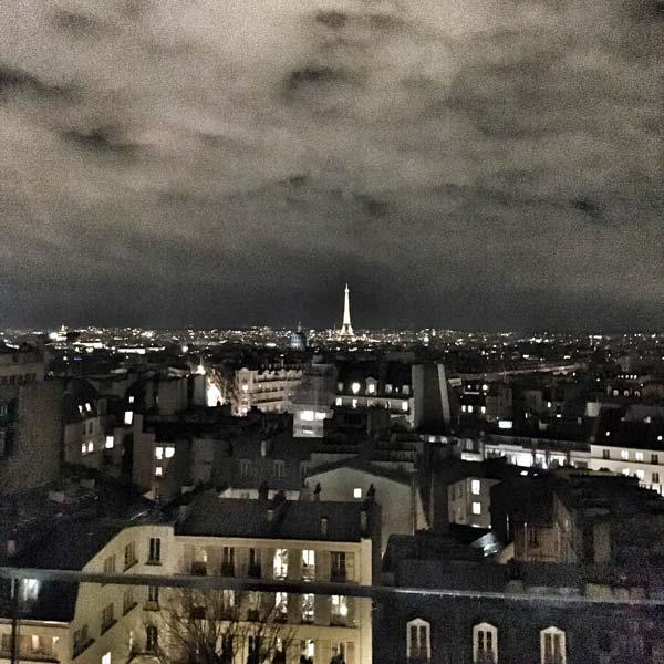 paris by night - tour eiffel