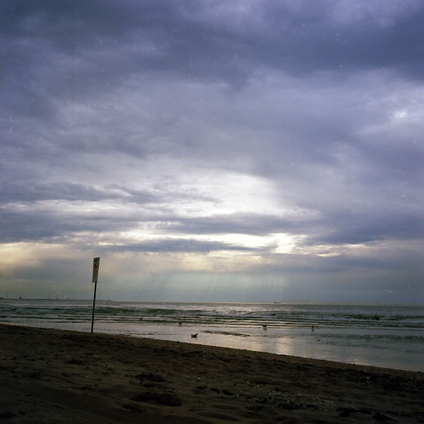 signalisation sur la plage de ter heijde