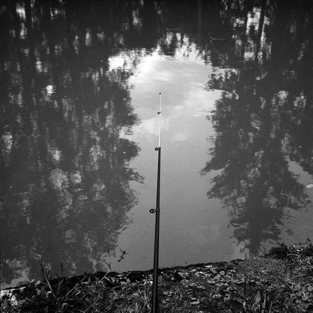 la pêche. l'attente