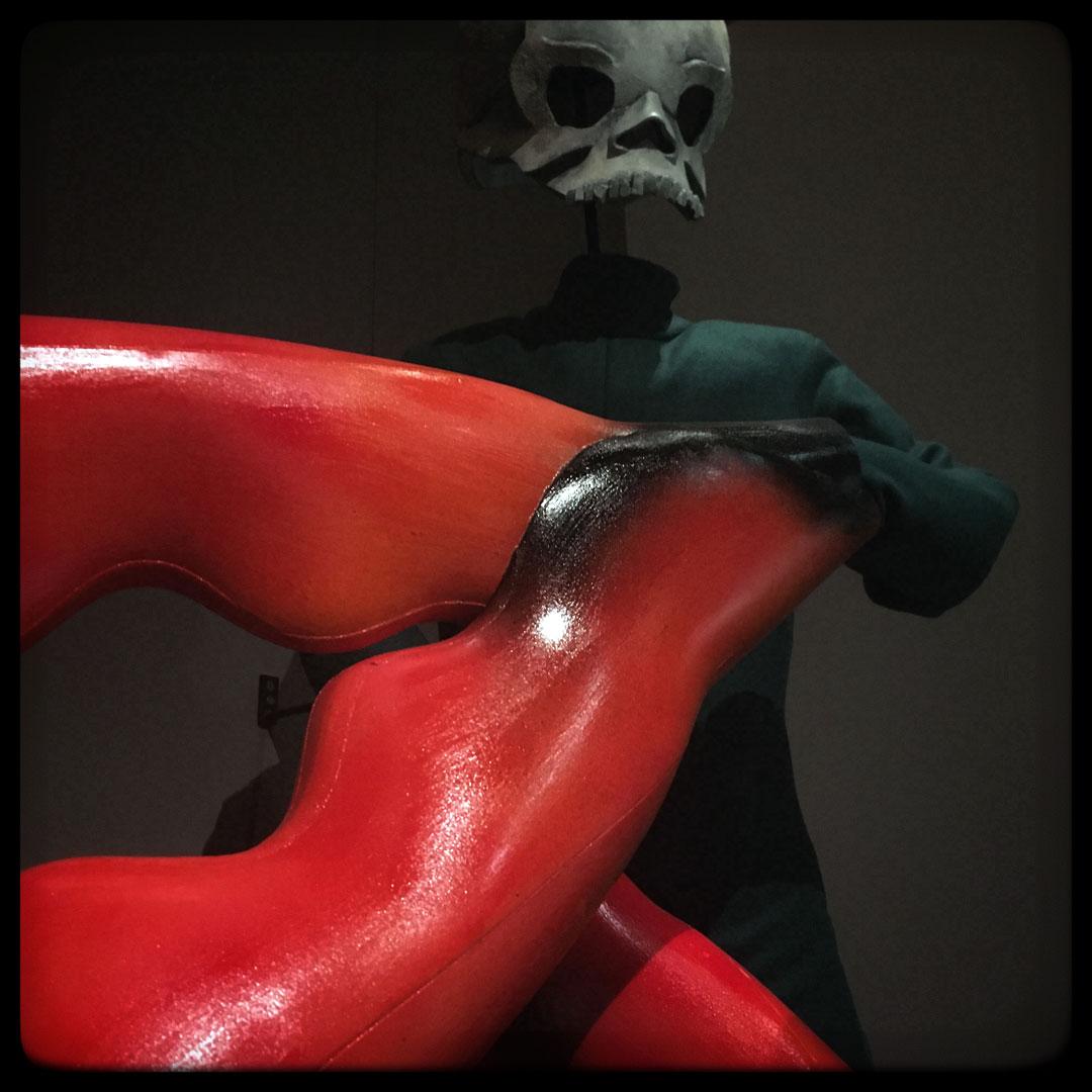 le grand macabre • costume de l'aide de la mort • 1978
