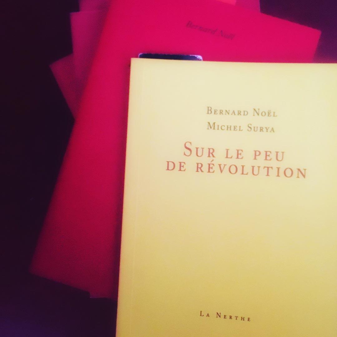 sur le peu de révolution
