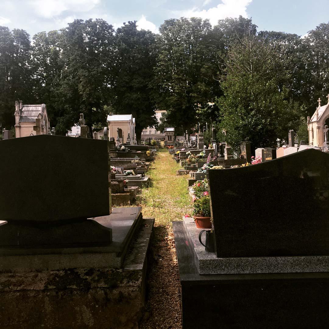 balade au cimetière de préville